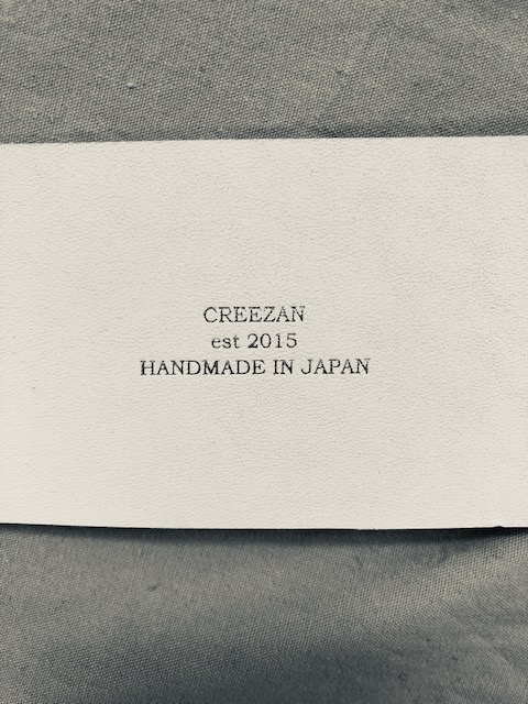 CREEZAN 新型開発